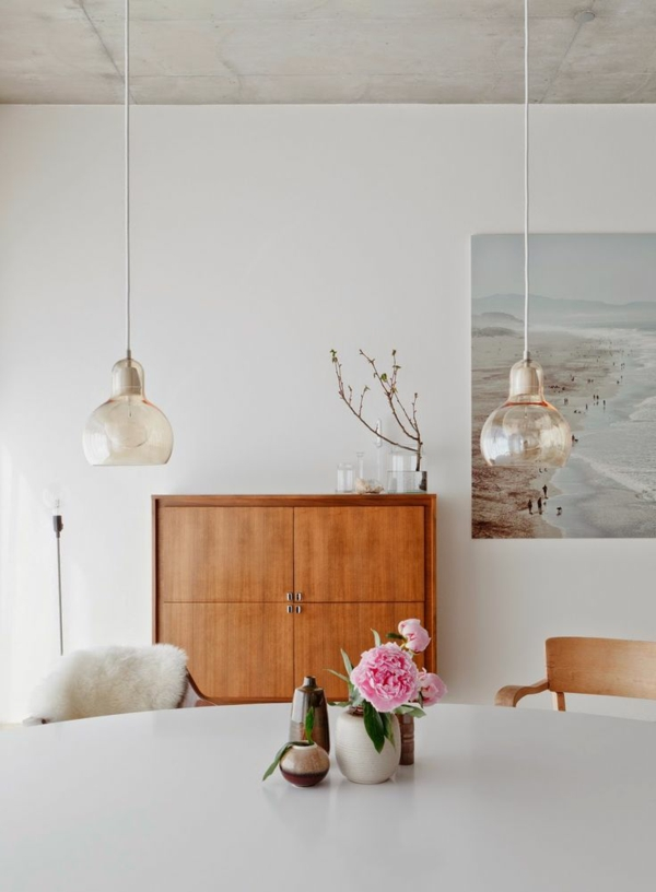 skandinavisches massivholz design möbel sideboard kommode