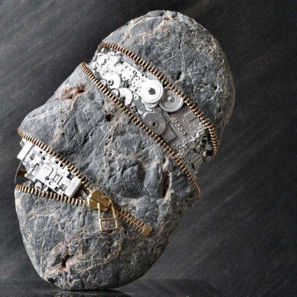 stein skulpturen mechanische teile