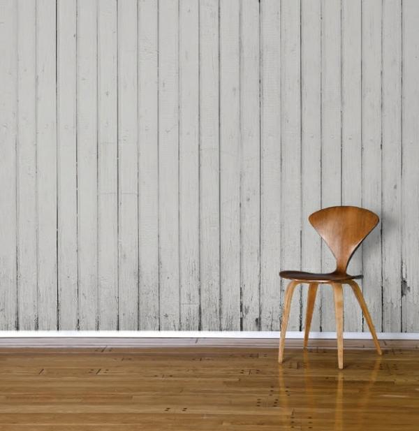 tapetenmuster holzplatten designer stuhl