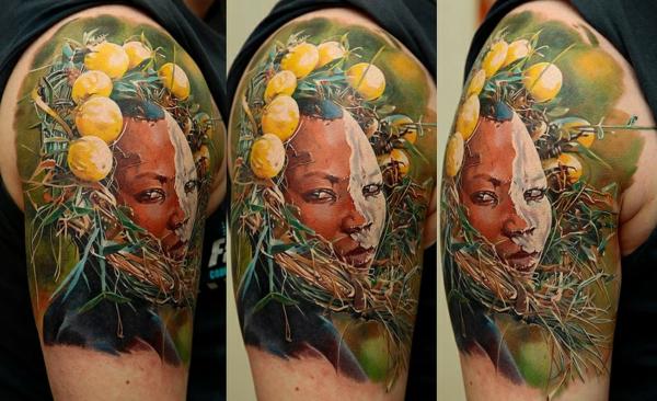 tattoo ideen oberarm unterarm schulter