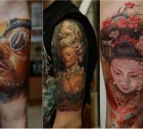 1001 Oberarm und Unterarm Tattoo Ideen – Drücken Sie Ihre Persönlichkeit aus!