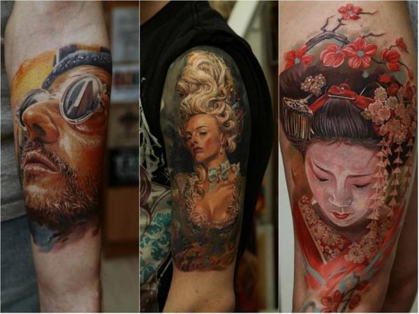 tattoo motive oberarm film charakter