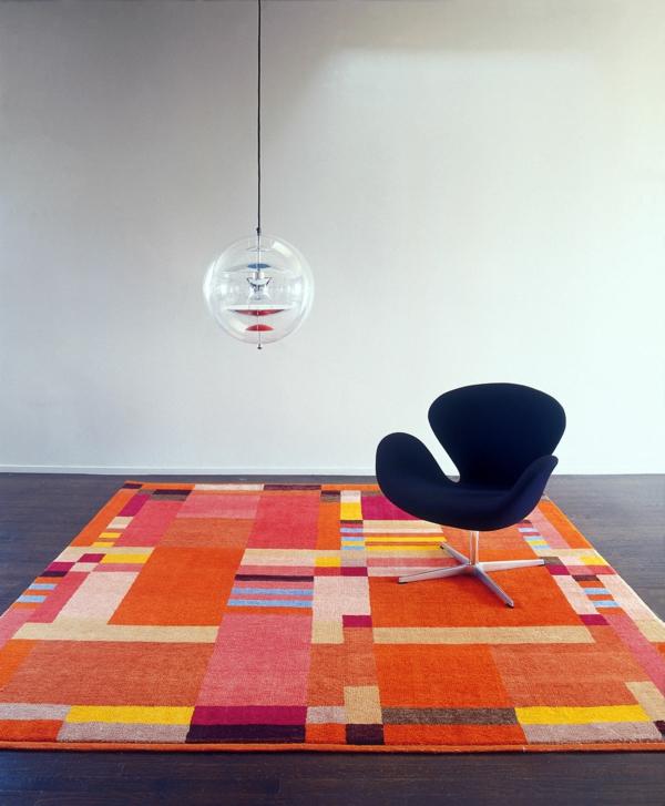 moderner teppich modern kubistische muster gunta stölzl archiexpo.it