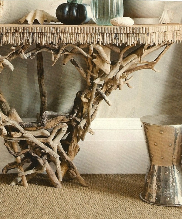 Treibholz Wohnzimmertisch Tisch Selber Bauen Design