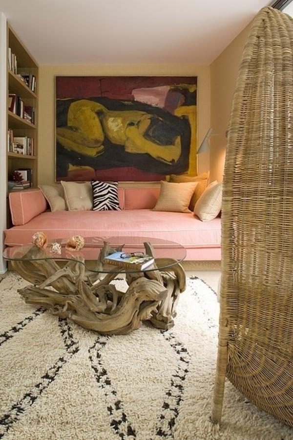 treibholz tisch wohnzimmertisch selber bauen luxus