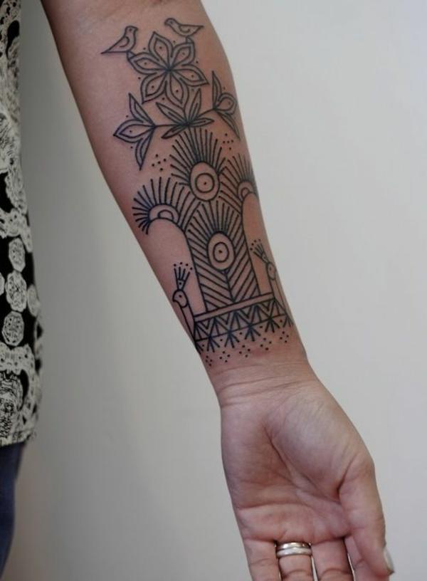 unterarm tattoo vorlagen ideen