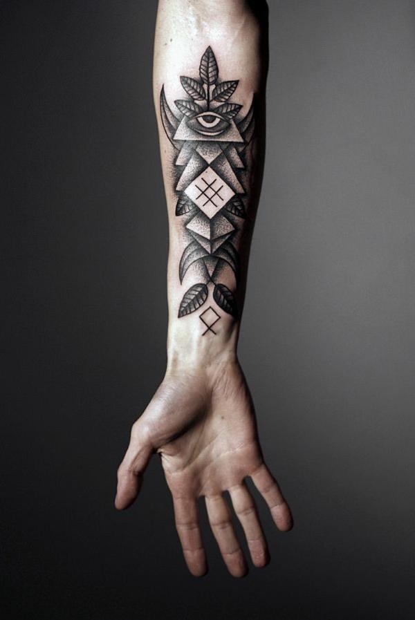 unterarm-tattoo-vorlagen-symbol