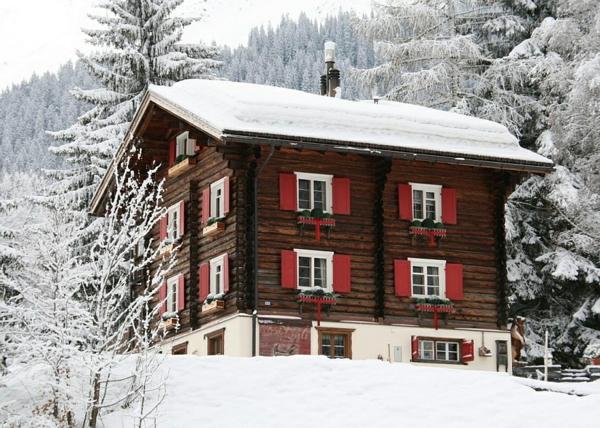 urlaub ferienwohnungen  schweizer alpen haus