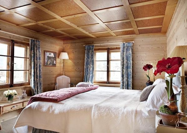 geebirge ferienwohnungen schweizer alpen zimmerdecke