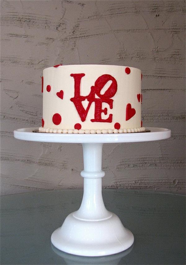valentinstag torte love