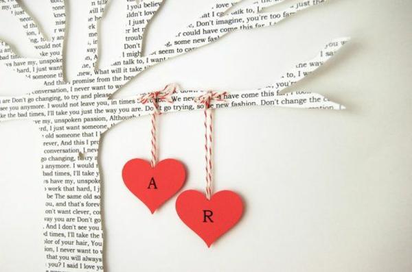 valentinstaggeschenke geschenke für verliebte papier baum