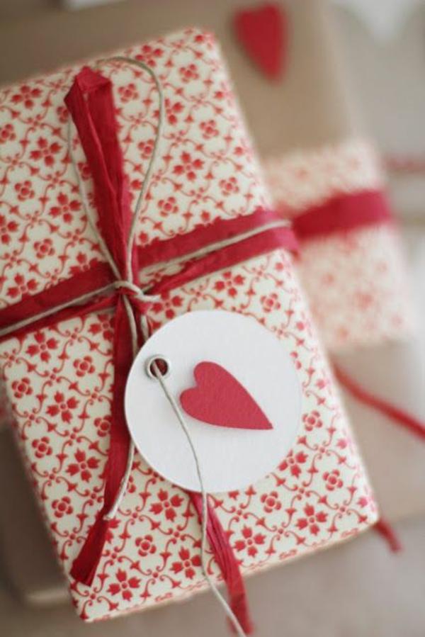 geschenke valentinstaggeschenke für verliebte verpackung
