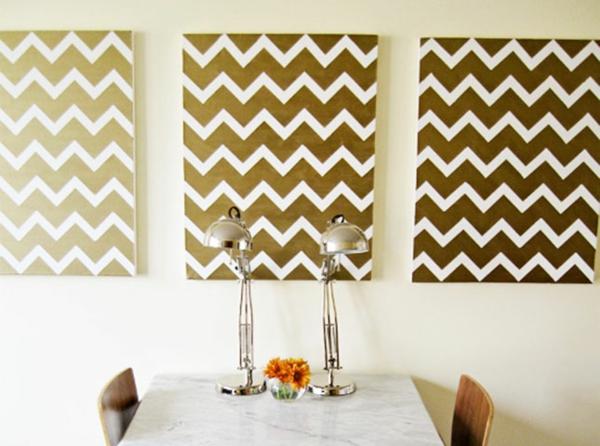 wanddekoration ideen. Black Bedroom Furniture Sets. Home Design Ideas