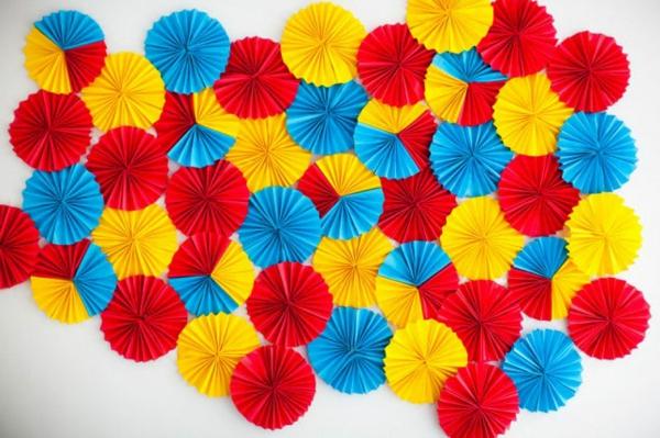 wanddekoration ideen bilder farben pracht