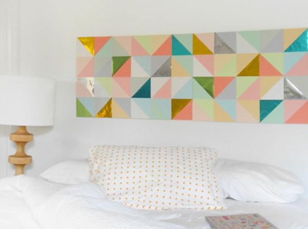 wanddekoration ideen bilder wand schlafzimmer