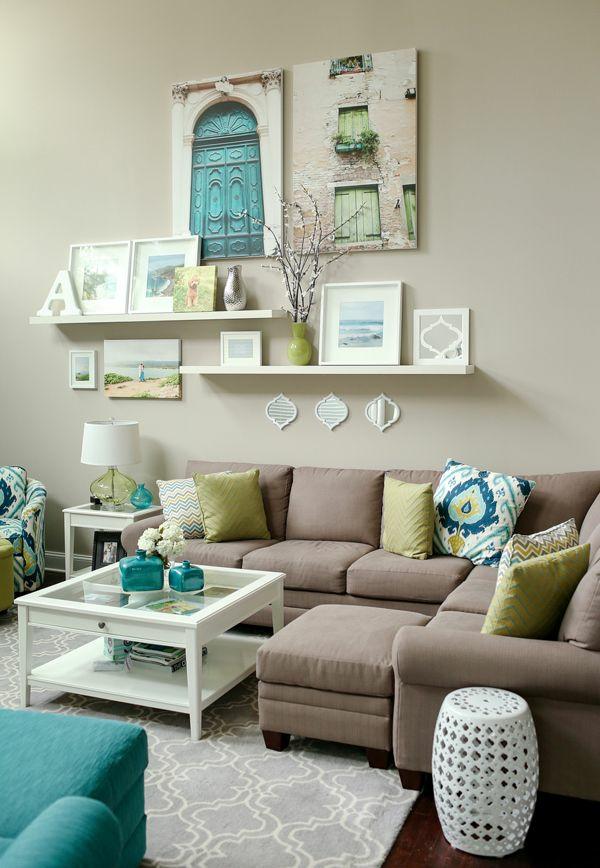 wanddekoration wohnzimmer selber machen:50 kreative Wanddekoration ...