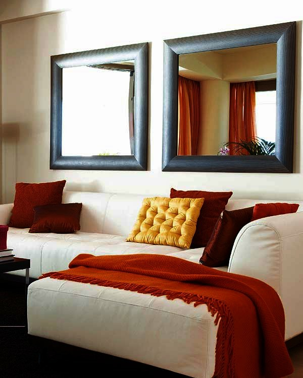 wanddekoration wohnzimmer selber machen:Die Wiederholung des gleichen ...