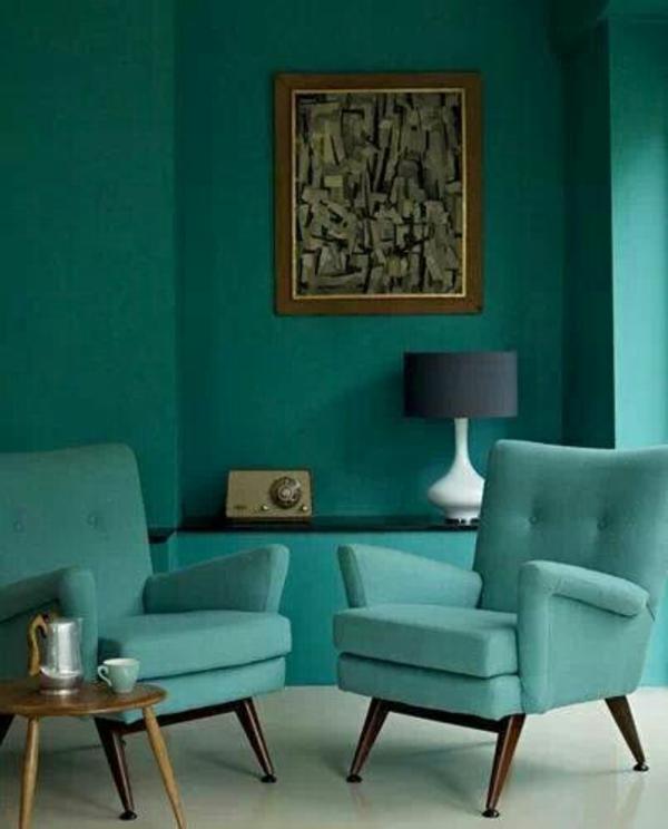 Türkis Wandfarbe wandfarbe türkis für ein modernes zuhause