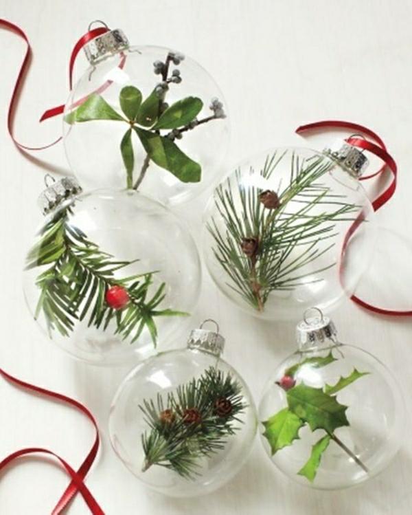 weihnachtsbaumschmuck basteln und den tannenbaum originell schmücken - Weihnachtsdekoration Basteln