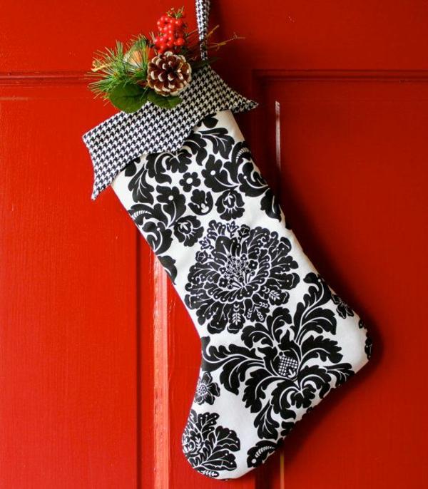weihnachtsbasteleien nikolausstiefel nähen bastelideen für weihnachten
