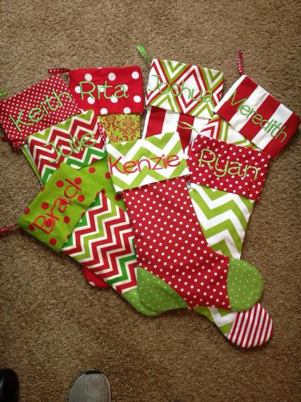 bastelideen f r weihnachten wollen sie nikolausstiefel n hen. Black Bedroom Furniture Sets. Home Design Ideas