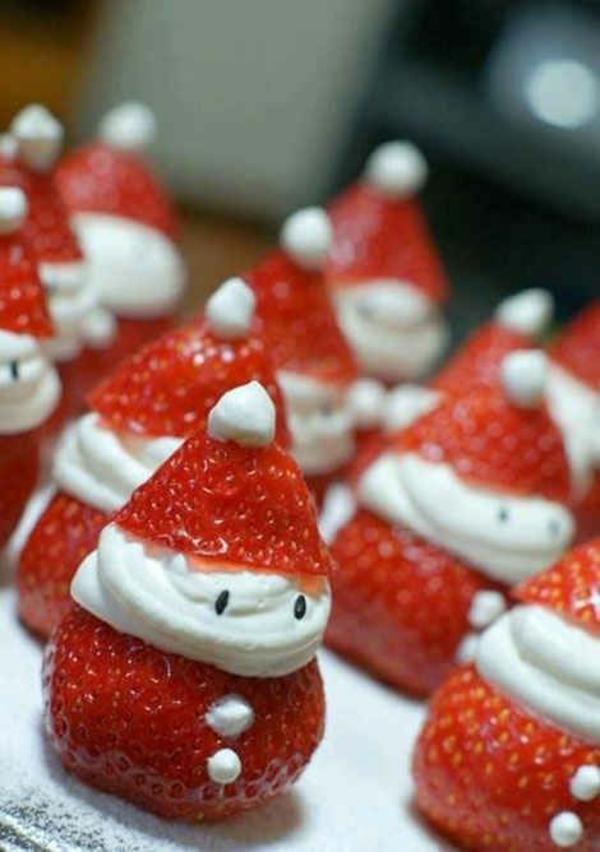 weihnachtsbaumschmuck tropischer art erdbeer männchen