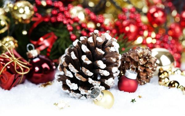 weihnachtsdekoration kunstschnee weihnachtsschmuck