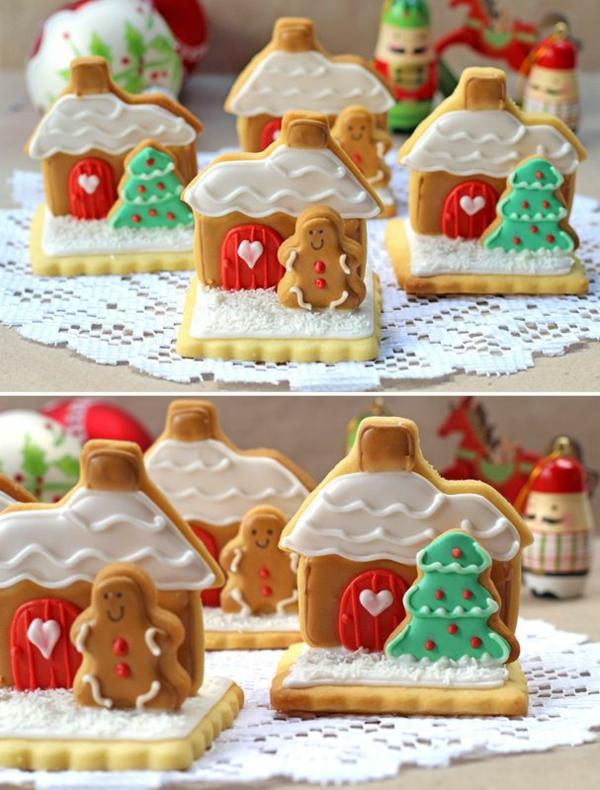 weihnachtsplätzchen einfach arangieren lebkuchen