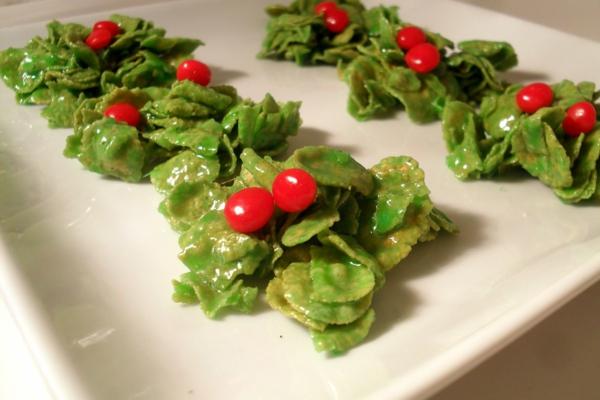 weihnachtsplätzchen cornflakes