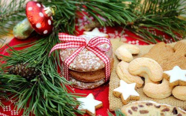 weihnachtsplätzchen lebkuchen vanillekipferl