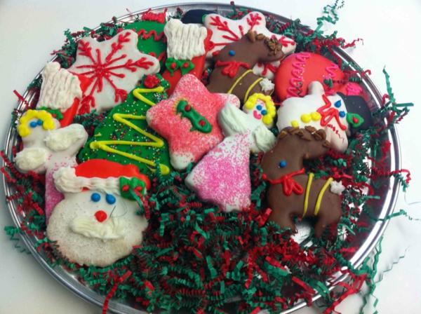 weihnachtsplätzchen rentier engel weihnachtsmann