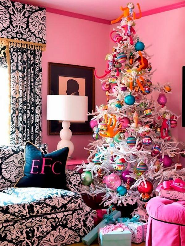 weihnachtsschmuck basteln bastelideen weihnachten tannenbaum schmücken