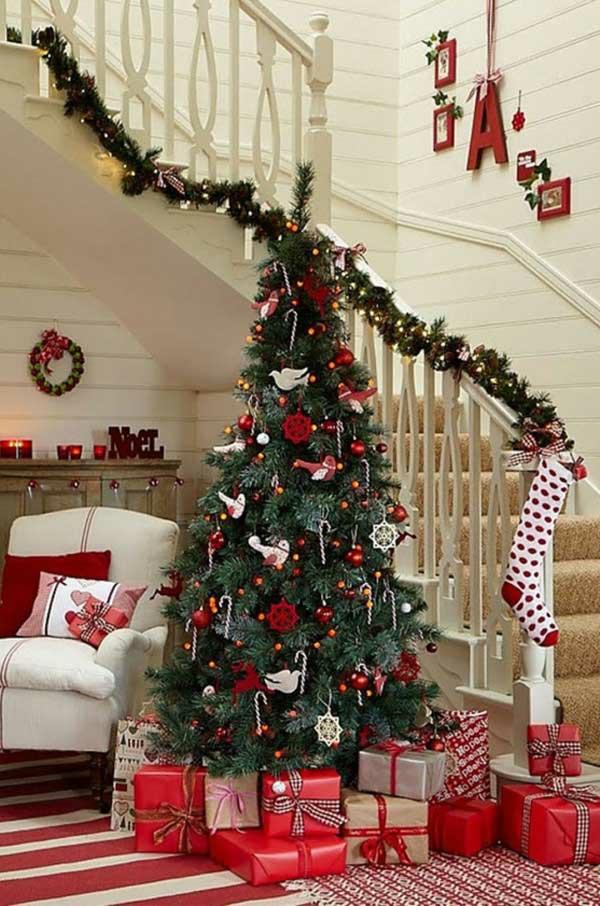 weihnachtsschmuck basteln tannenbaum schmücken geschenke verpacken