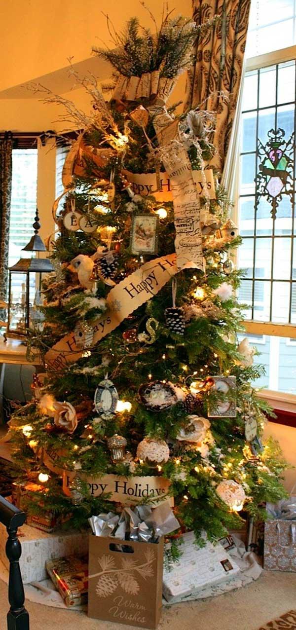 Weihnachtsschmuck basteln kreative ideen zum nachmachen - Tannenbaumschmuck basteln ...