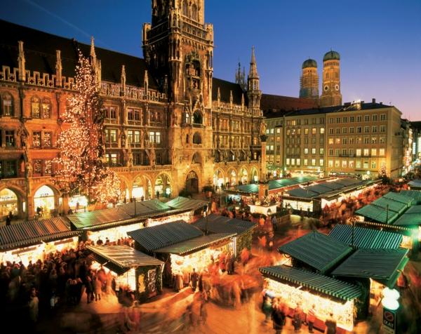 weihnachtsurlaub in deutschland weiihnachtsmarkt münchen