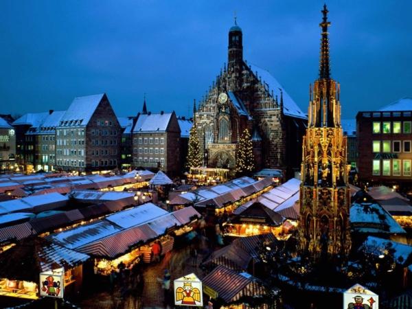 weihnachtsurlaub in deutschland weiihnachtsmarkt nürnberg