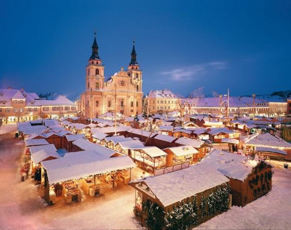 weihnachtsurlaub in deutschland weiihnachtsmarkt schnee