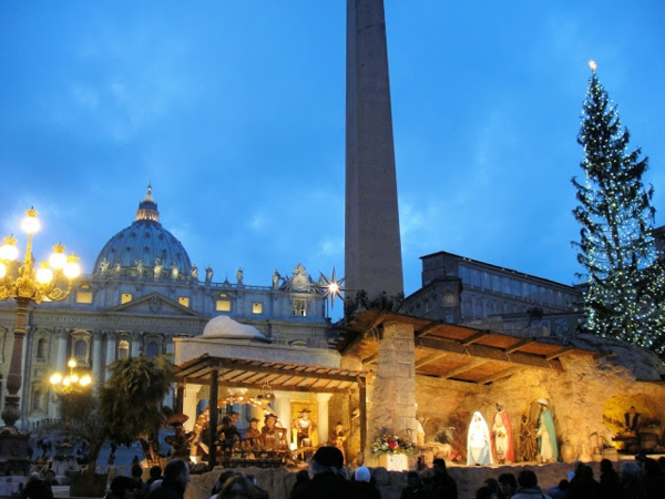 weihnachtsurlaub mit kindern rom italien vatikan