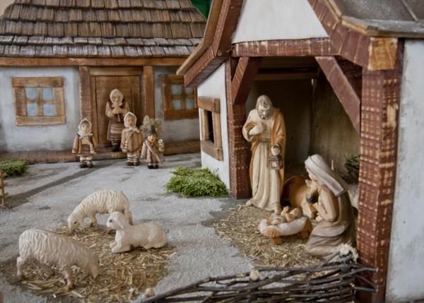 weihnachtsurlaub mit kindern rom krippenszene