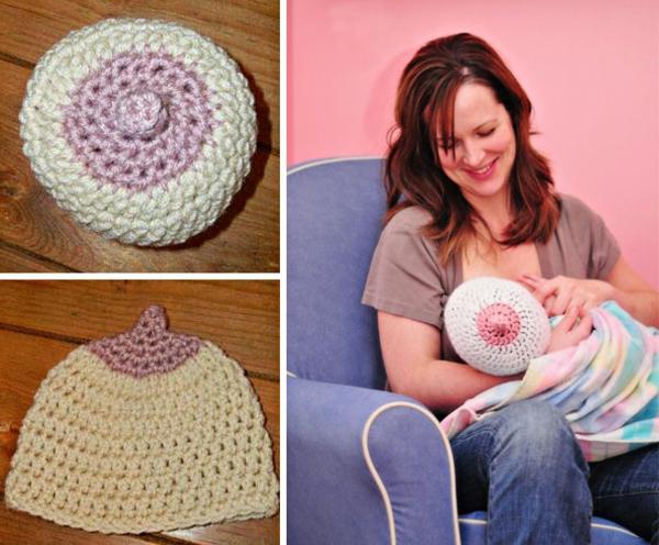 wintermützen baby mütze weiß rosa