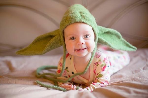 winter mützen baby yoda mütze