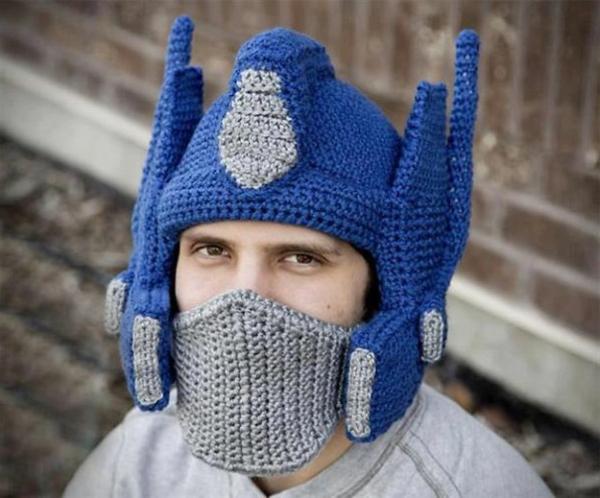winter mützen optimus häkelarbeit mütze