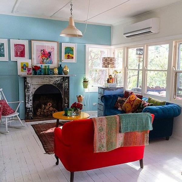 wohnzimmerlampen günstig:wohnzimmerlampen-günstig-design-rot-sofa ...