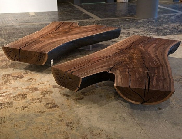 Couchtisch Holzblock couchtisch massivholz modelle wohnzimmertischen aus holz