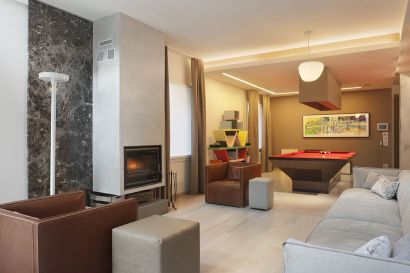 apartment einrichten wohnung showroom und office in einem. Black Bedroom Furniture Sets. Home Design Ideas