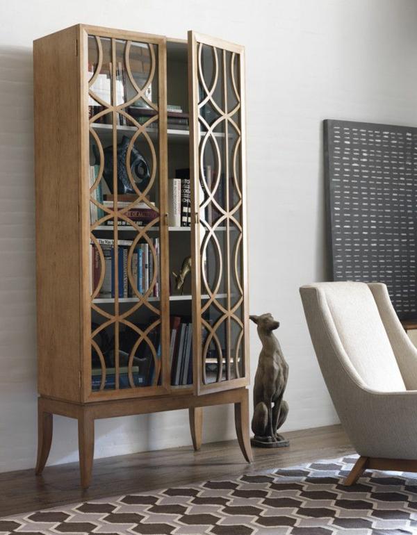 Art Deco Stil art deco einrichtung bücherregale