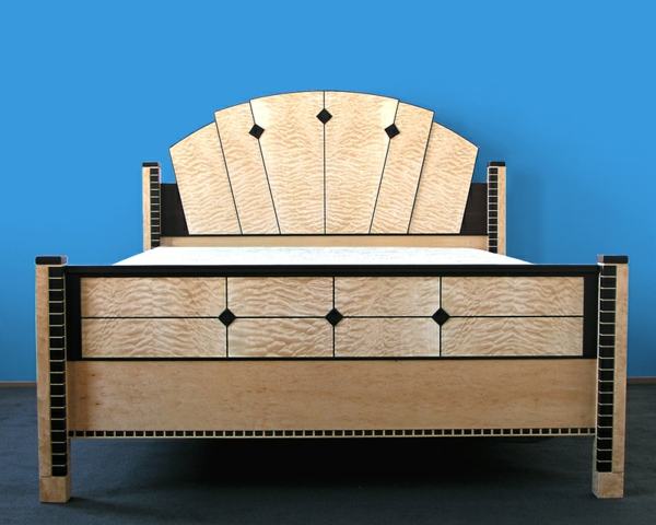 Art Deco Stil art deco einrichtung bett gestell