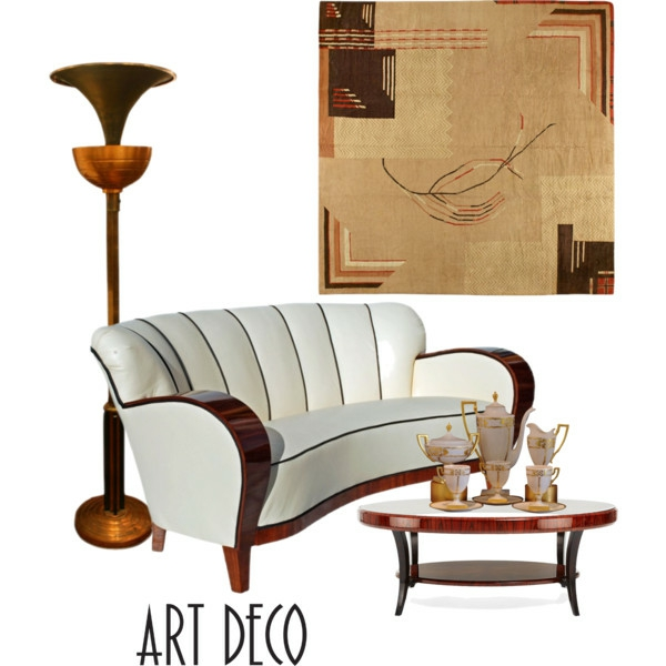 dekorieren im art deco stil luxus wohnung dekorieren im. Black Bedroom Furniture Sets. Home Design Ideas