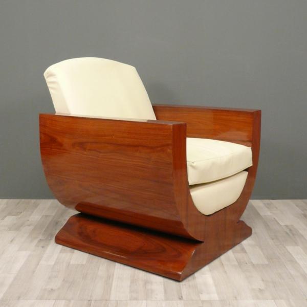 Art Deco möbel art deco einrichtung sessel braun
