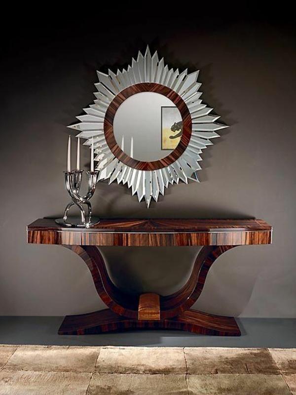 Art Deco design möbel holzlack flur
